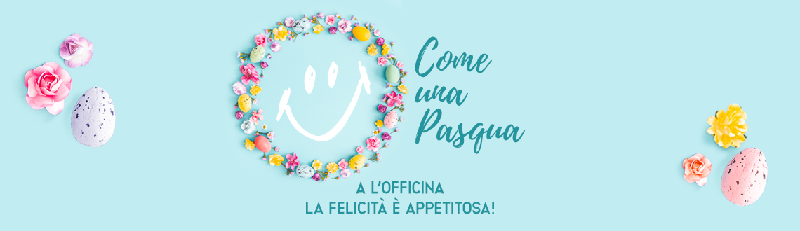 We look forward to seeing you at L'Officina on Easter Sunday and Easter Monday!